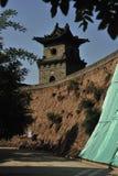 墙壁塔楼 免版税库存图片