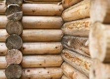 墙壁木屋 免版税库存照片