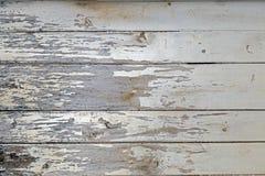 墙壁木纹理背景白色 库存图片