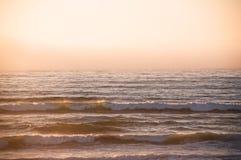 墙壁海滩,范登堡空军基地 免版税库存照片