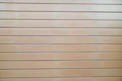 墙壁由混凝土制成做类似木头 免版税库存图片