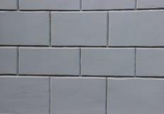 墙壁由灰色块做成 图库摄影