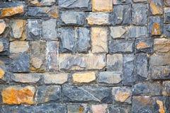 墙壁由石头制成 图库摄影