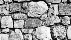 墙壁由石头制成 免版税库存图片