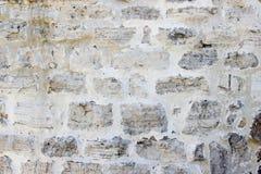 墙壁由自然岩石做成 免版税图库摄影
