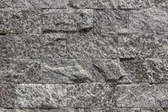 墙壁由自然石头制成 免版税库存照片