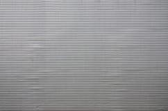 墙壁的纹理由巨大的aluminu制成金属镀层  免版税库存图片