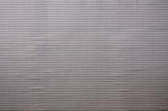 墙壁的纹理由巨大的aluminu制成金属镀层  免版税库存照片