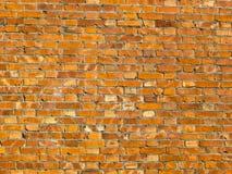 墙壁的背景 红砖纹理 库存照片