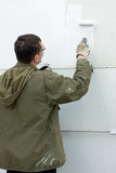 墙壁的绘画 免版税图库摄影