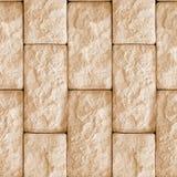 墙壁石头块无缝的纹理  免版税图库摄影