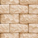 墙壁石头块无缝的纹理  图库摄影