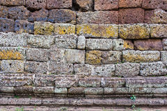 墙壁石特写镜头 免版税库存图片