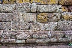 墙壁石特写镜头 库存照片