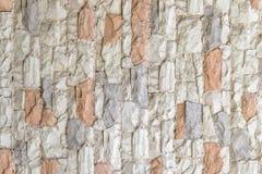 墙壁石砖纹理 免版税库存照片