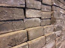 墙壁石细节 免版税库存图片