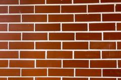 墙壁砖背景 免版税库存图片