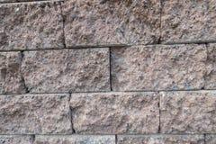墙壁纹理由砖做 免版税库存图片