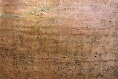 墙壁老棕色高明的背景  免版税库存图片