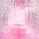 绘墙壁背景紫色和桃红色墙壁 免版税库存照片