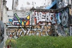 墙壁艺术 免版税图库摄影