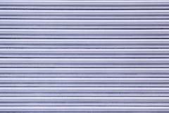墙壁蓝色金属 免版税库存照片