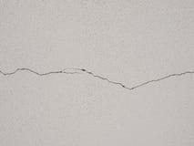 墙壁裂缝 免版税库存照片