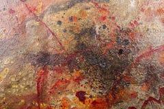 墙壁装饰纹理 免版税库存照片