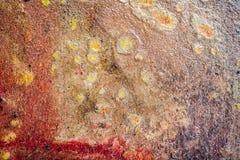 墙壁装饰纹理 库存图片