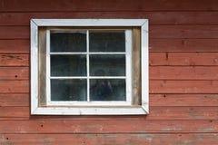 墙壁视窗木头 免版税库存照片