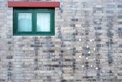 墙壁视窗 免版税库存图片