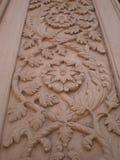 墙壁雕塑设计 图库摄影