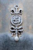墙壁雕刻威尼斯式飞过的狮子 图库摄影