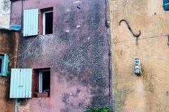 墙壁-窗口 免版税库存照片