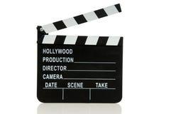 墙板好莱坞电影 免版税库存图片