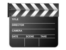 墙板电影 库存图片