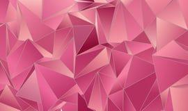 墙纸多角形三角几何背景 免版税库存图片