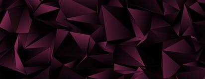 墙纸多角形三角几何背景 免版税库存照片