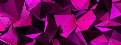 墙纸多角形三角几何背景 库存照片