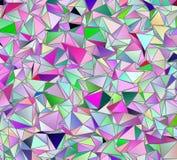 墙纸多角形三角几何背景 免版税图库摄影