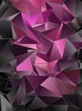 墙纸多角形三角几何背景 图库摄影