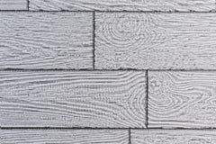 墙纸灰色背景以仿制委员会的形式从轻的木头 免版税库存图片