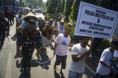 增加新的边境口岸的印度尼西亚军事 库存照片