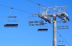 增强滑雪 免版税库存图片
