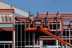 增强焊工 免版税库存图片
