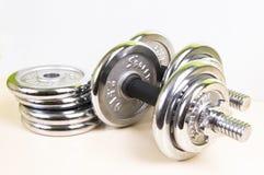 增强的重量重量 免版税库存照片