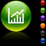 增长图标 免版税图库摄影