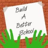 增长学校 向量例证