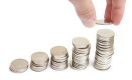 增长的利润 免版税库存图片