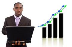 增长股票 库存图片